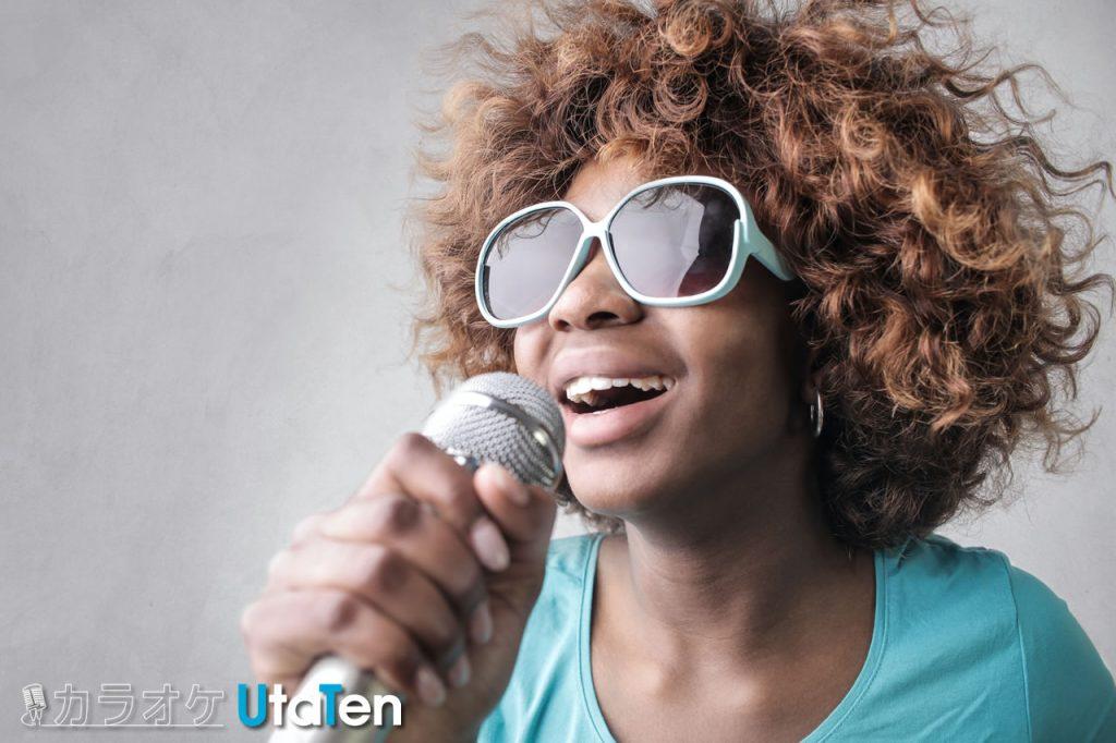 カラオケ ランキング  声が低い 女性