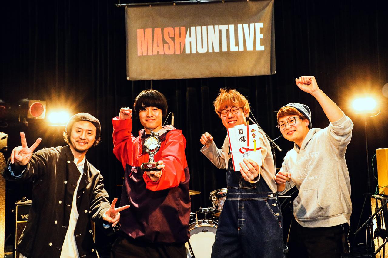MASH HUNT LIVE Vol.1結果