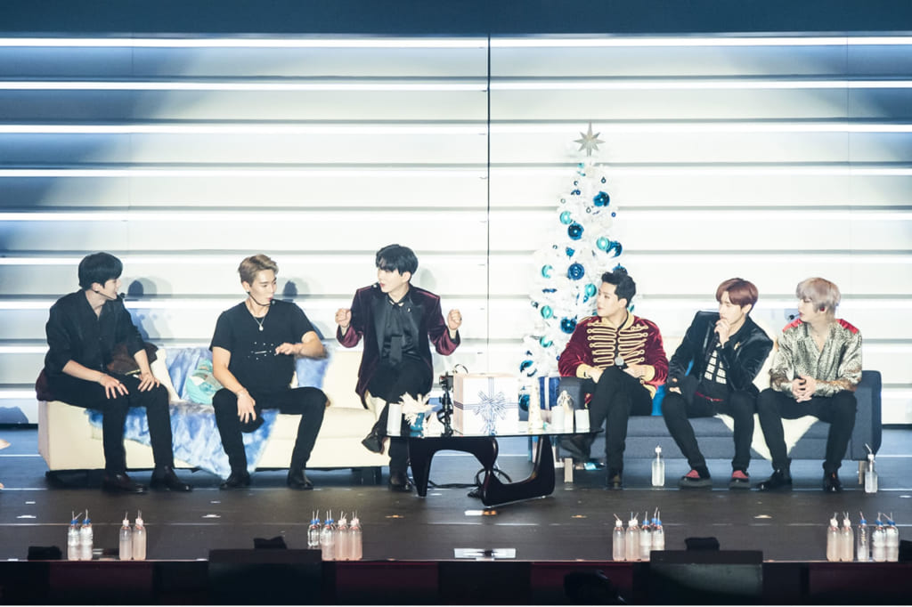 MONSTA X, Christmas Party 2019