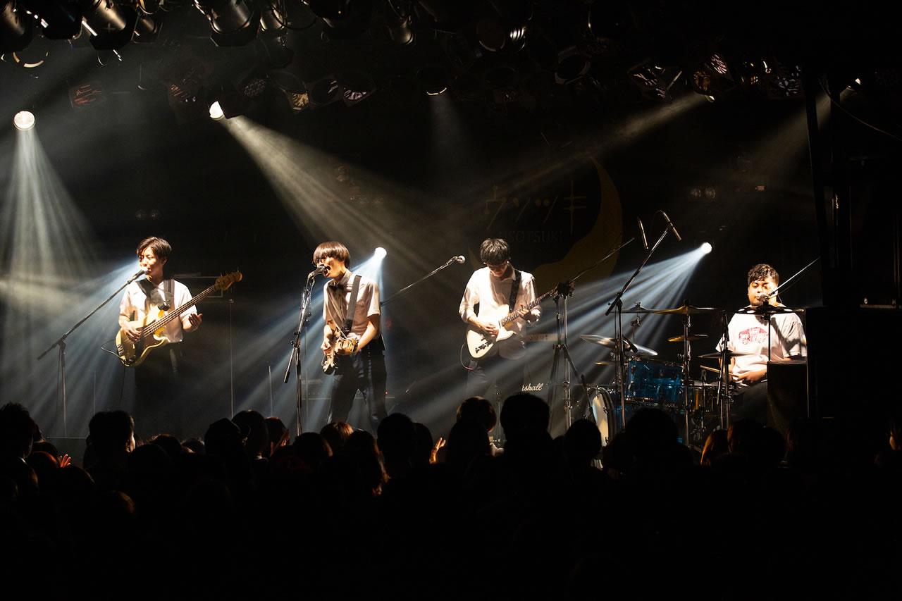 """ウソツキ 「0時2分」リリース記念 """"timeless tour"""" FINAL @ 渋谷CLUB QUATTRO"""
