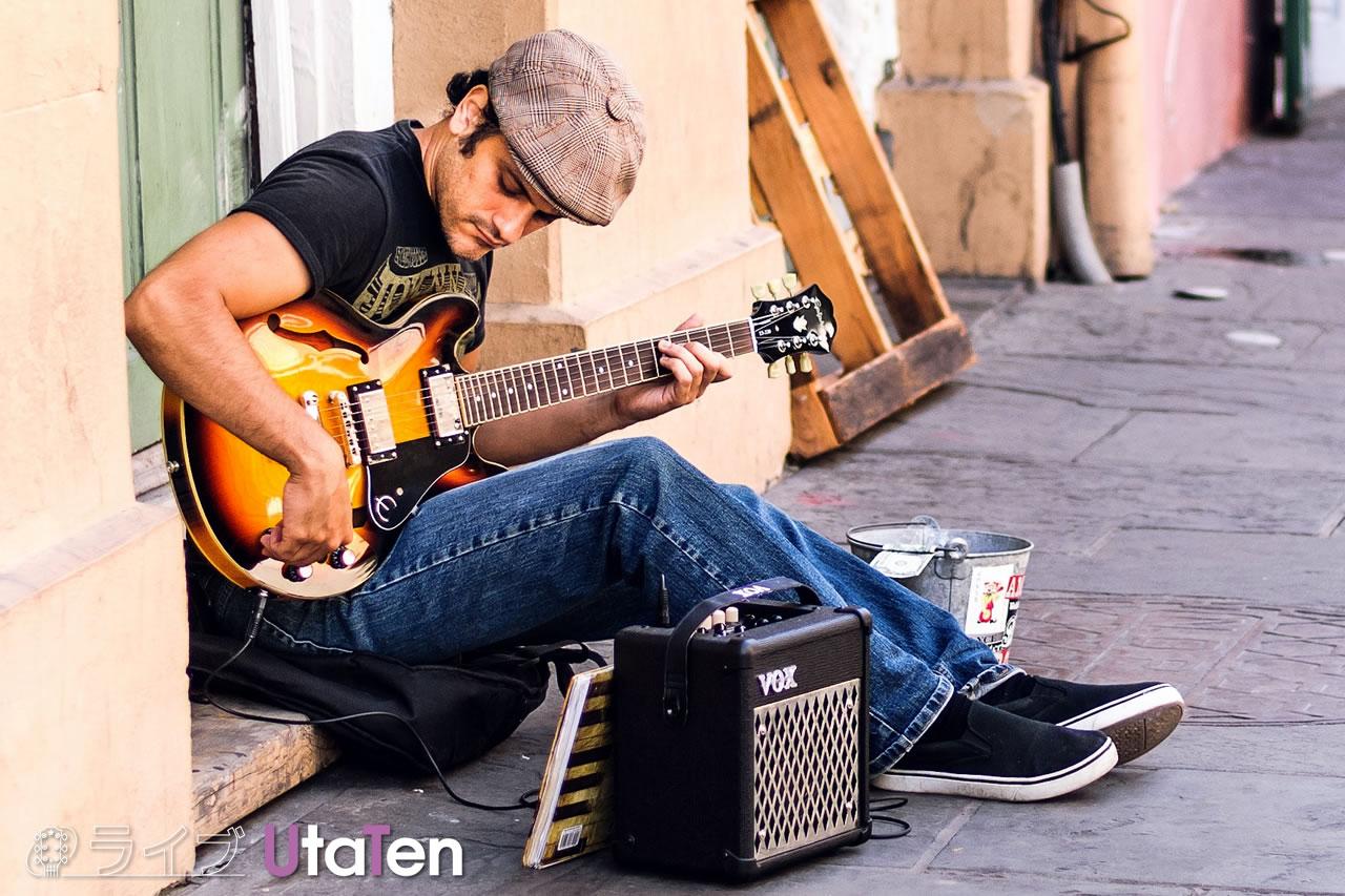 ギター 独学