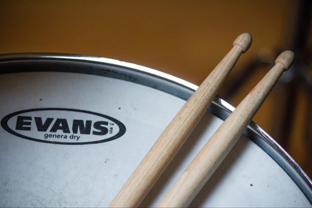 軽音でドラム おすすめスティック
